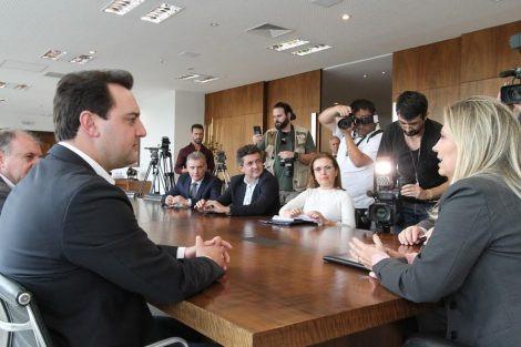 Reuniões de transição do governo do Paraná começam nesta segunda