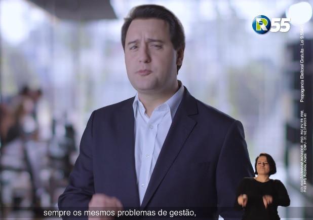Ratinho começa propaganda eleitoral propondo novo modelo de gestão