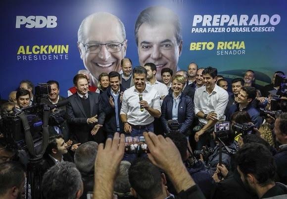 PSDB confirma candidatura de Beto Richa ao Senado