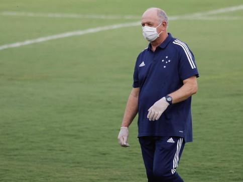 Felipão decide deixar o Cruzeiro após três meses