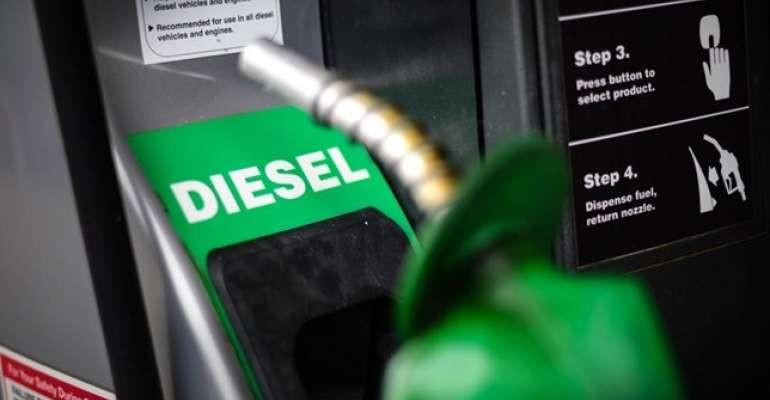 Petrobras aumenta preço do litro do diesel nas refinarias em 2,56%