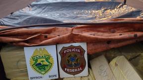 Polícia apreende caminhão com R$ 1,4 milhão em cigarros