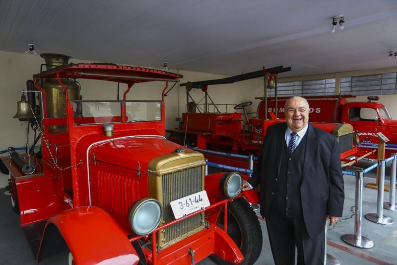 Projeto prevê preservação de viaturas históricas do Corpo de Bombeiros