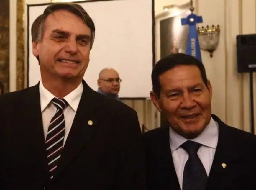 Bolsonaro desautoriza fala do vice sobre 13º