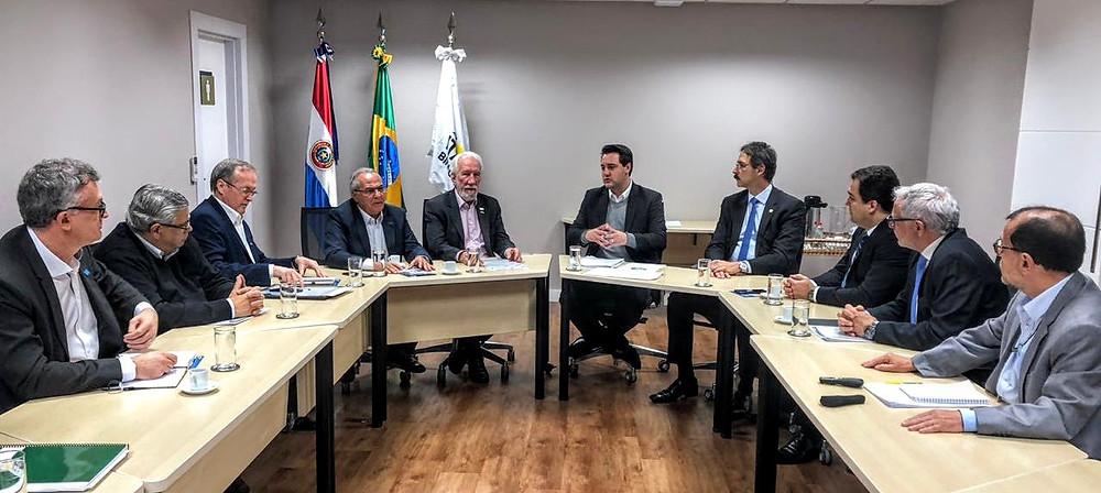 Ratinho Jr. realiza encontrao técnico com G7 e Itaipu