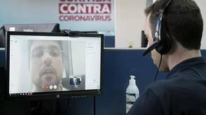 Curitiba registra 13 mortes e 1.302 casos de covid-19