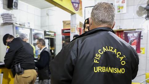 Fiscalização na cidade é diária, mesmo com flexibilização de atividades