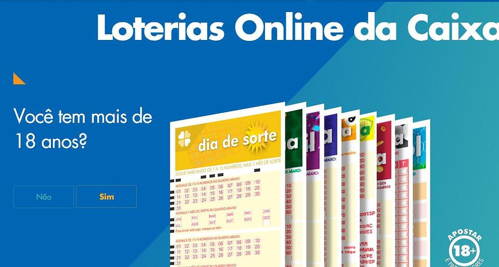 Caixa lança portal de loterias online