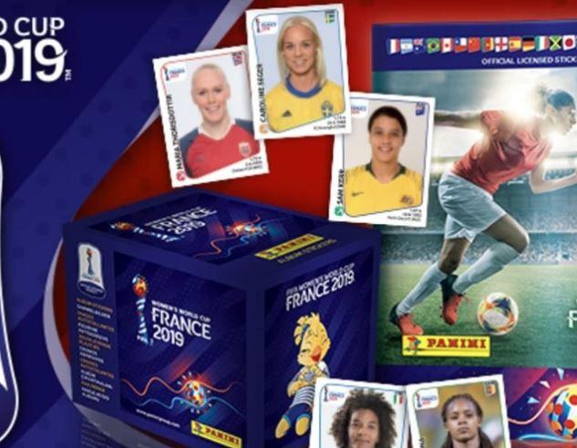 Copa do Mundo feminina ganha álbum de figurinhas