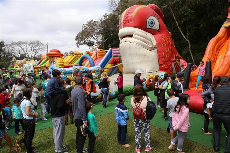Festa da Crianças reúne público recorde no Parque Barigui