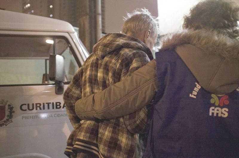 FAS acolhe 467 pessoas durante noite fria