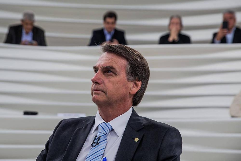 Bolsonaro defende ditadura militar durante o Roda Viva