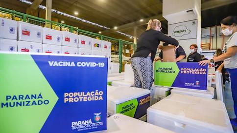 Curitiba pede igualdade na distribuição de vacinas