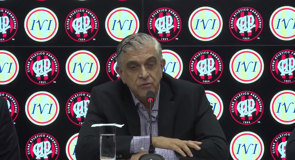Petraglia afirma que vai mudar as cores do Atlético