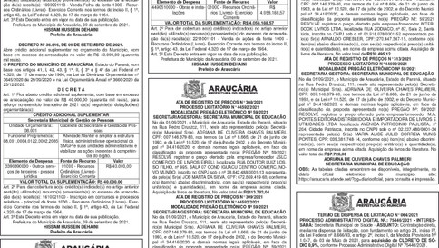 Publicidade Legal   Edital - 13/09/2021