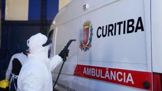 Curitiba registra 30 mortes e 804 casos de covid-19