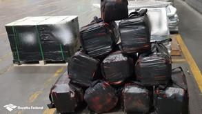 Receita Federal apreende 322 kg de cocaína no Porto de Paranaguá
