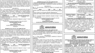 Publicidade Legal | Edital - 22/06/2021