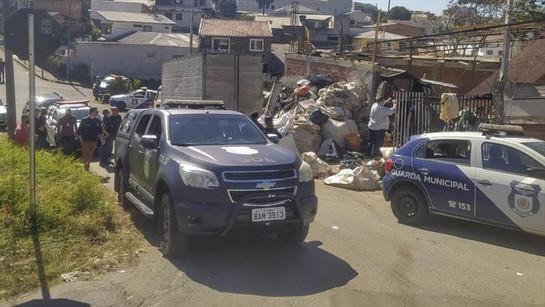 Operação Metal Nobre recupera materiais roubados