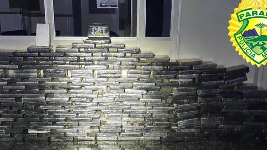 PM apreende 270 quilos de pasta base de cocaína