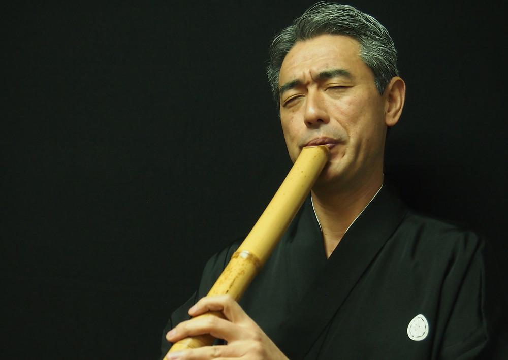 Caixa Cultural recebe mestre do Shakuhachi