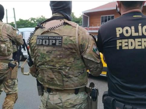 PF e PM prendem líder de quadrilha de roubo a bancos em Curitiba
