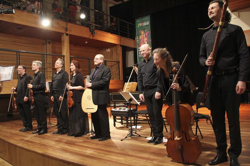 Curitiba terá concertos com instrumentos de época
