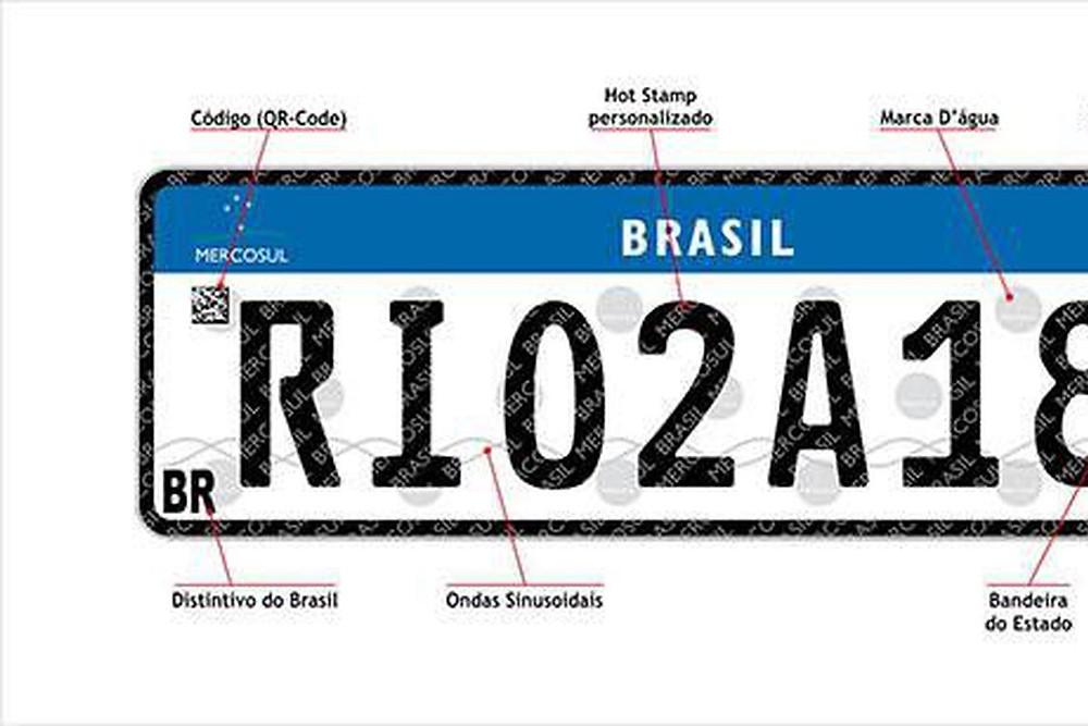 Justiça suspende adoção de placas do Mercosul