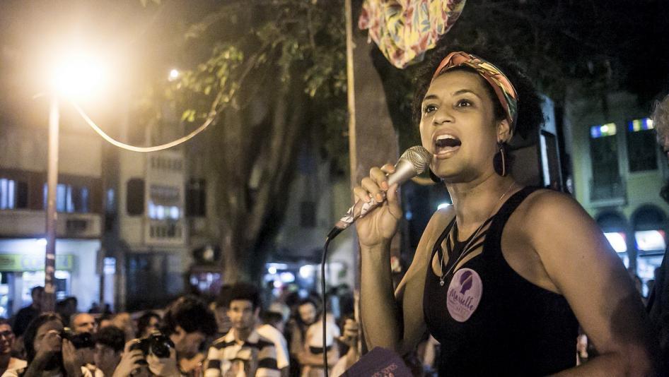 Secretário diz que milícia matou Marielle por questão de terras