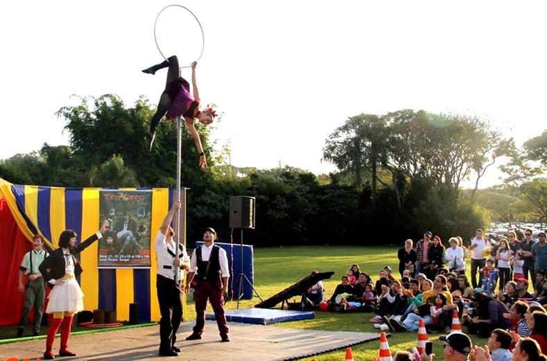 Prefeitura lança Praça do Circo no Parque Barigui