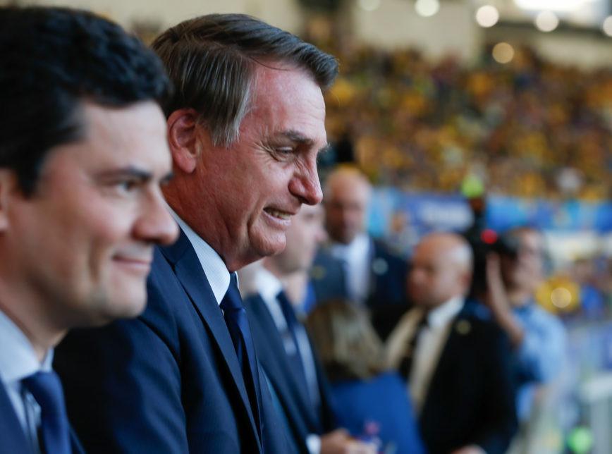 Moro pode ser candidato a vice na chapa de Bolsonaro em 2022