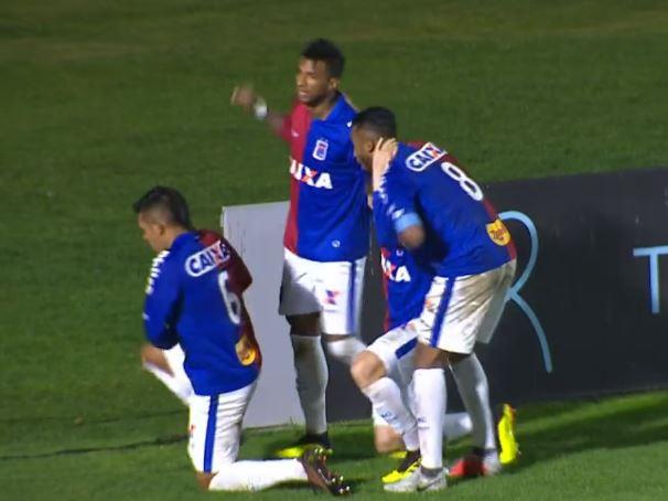 Paraná deixa vitória escapar contra a Chapecoense