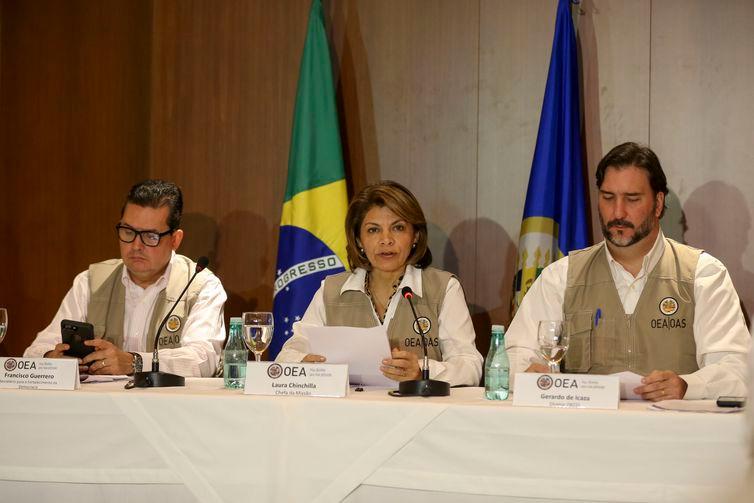 Missão da OEA critica fake news e violência nas eleições