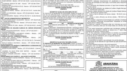 Publicidade Legal | Edital - 13/04/2021