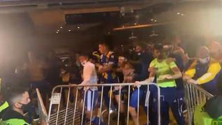 Técnico do Boca diz que foram agrediram e se defenderam