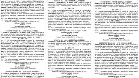Publicidade Legal | Edital - 21/07/2021