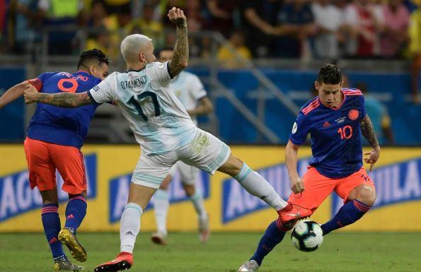 Colômbia estreia com vitória sobre a Argentina