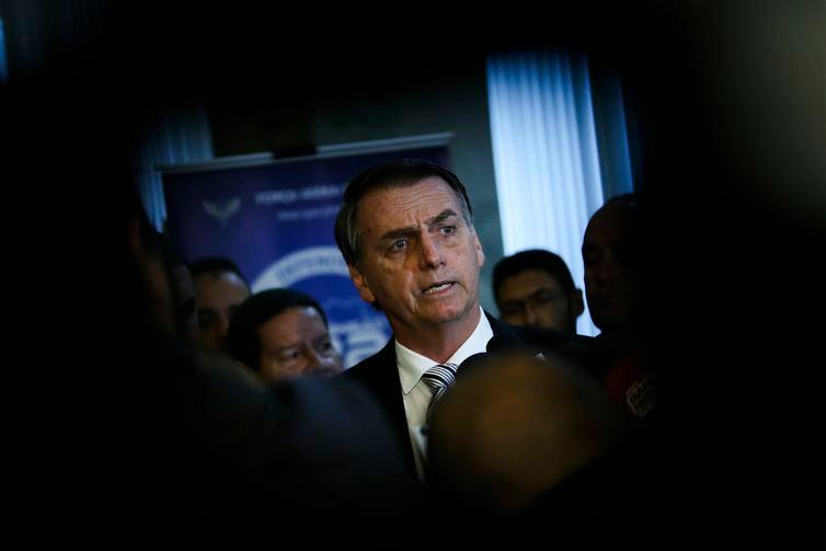 Bolsonaro diz que Temer deveria vetar reajuste dos magistrados