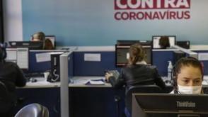 Curitiba registra 16 óbitos e 1.571 novos casos de covid-19