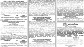 Publicidade Legal | Edital - 01/12/2020