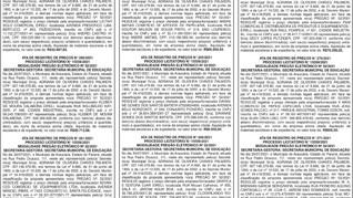 Publicidade Legal | Edital - 30/07/2021