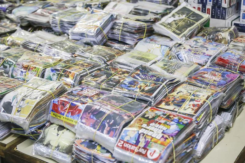 Fiscalização da Prefeitura tira 38 mil produtos de ambulantes