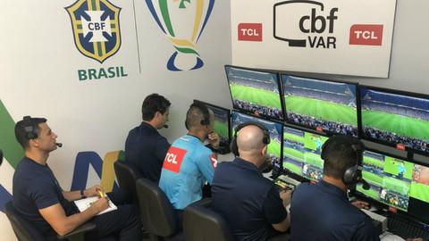 CBF vai liberar áudios do VAR do Campeonato Brasileiro
