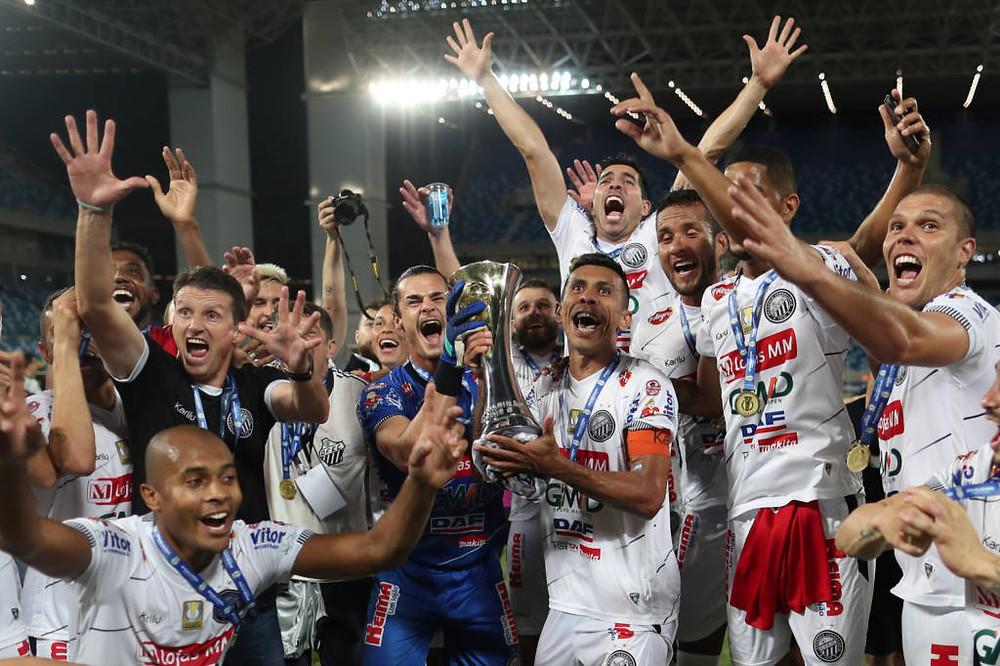 Operário vence Cuiabá e é campeão da Série C