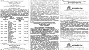 Publicidade Legal | Edital - 09/03/2021