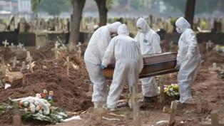 Brasil registra 1.760 mortes em 24 horas e total chega a 262,9 mil