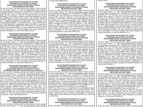 Publicidade Legal | Edital - 14/01/2021
