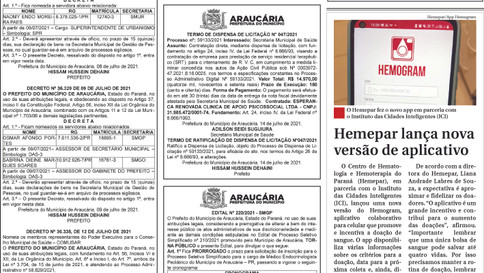 Publicidade Legal | Edital - 16/07/2021