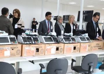 Auditoria do TRE comprova lisura das urnas no Paraná