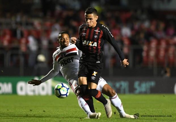 Atlético e São Paulo não saem do 0 x 0